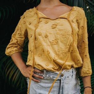 Tops - Embroidered Blouse